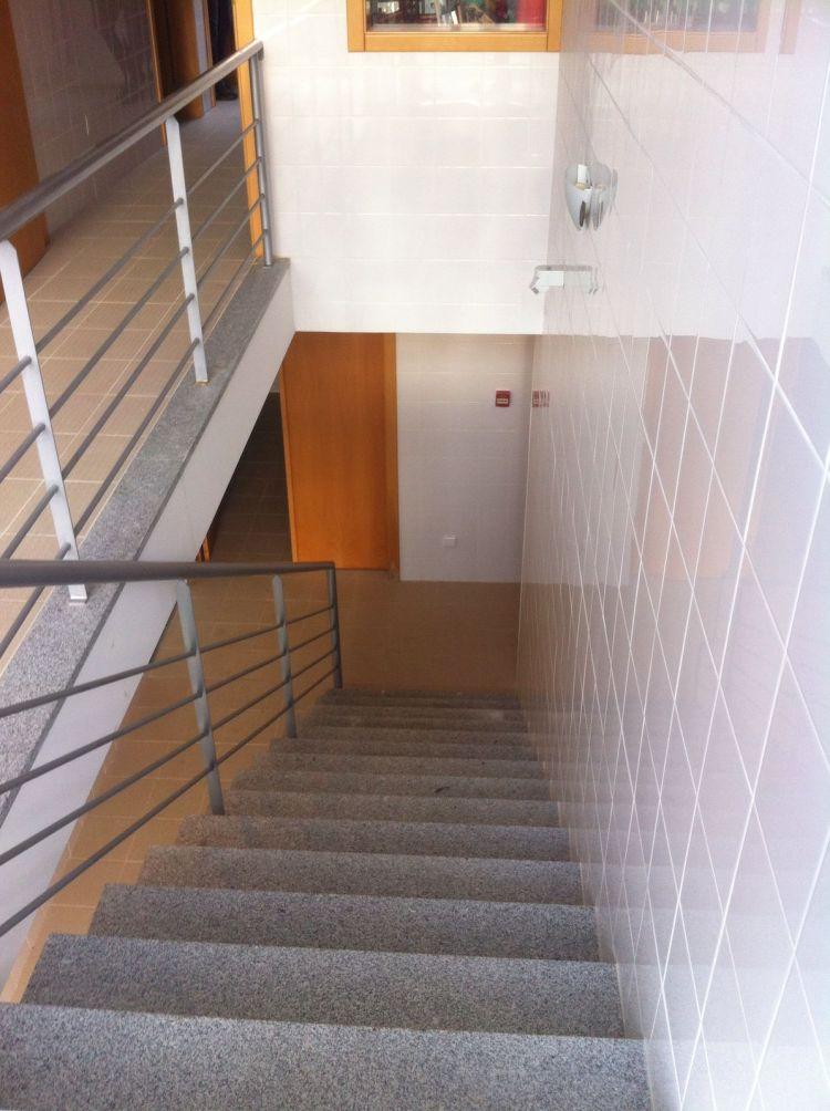 Escadas no edifício da cozinha