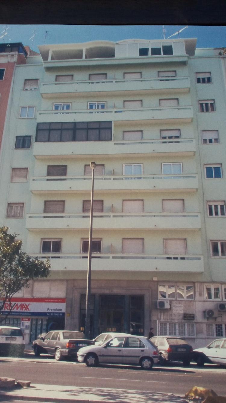 Fachada Principal Avª.de Roma,91-Lisboa